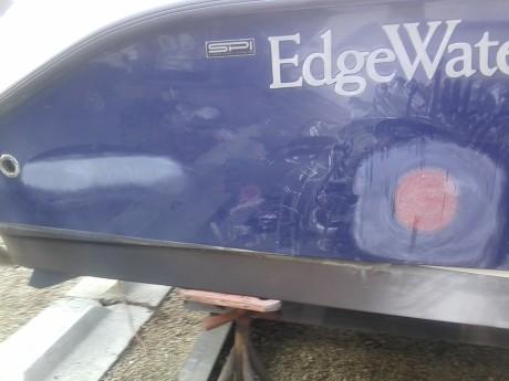 Edgewater dock impact